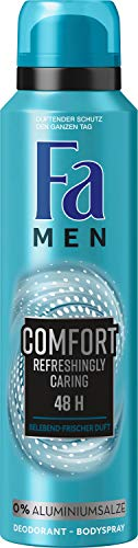 Fa Desodorante en Spray Men Comfort Refreshingly Caring Fresca Fragancia 150ML