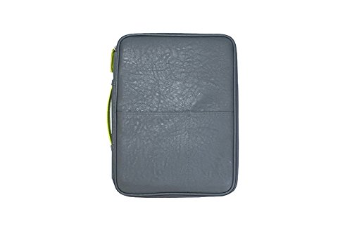 Better Together A4 Classic Leather Pad Folio Work Folio Carrying Case Ver.02 (Gray)