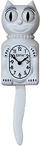 Kit-Cat Reloj, Color Blanco