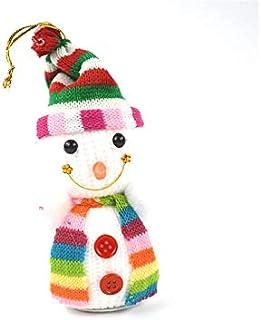 Pengcher Christmas Snowman Doll Pendant Decoration Christmas Eve Ornament