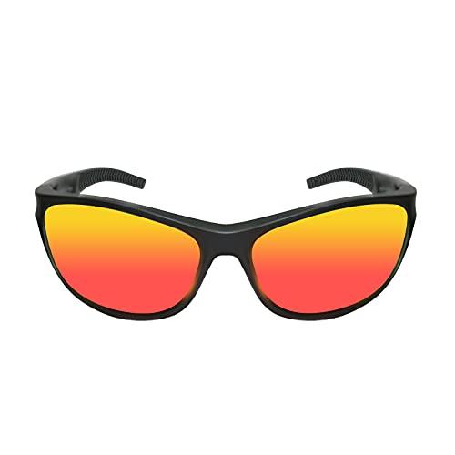 Funní Día Gafas de Deporte al aire libre, Lente Polarizada con Marco TR90, Gafas de sol del Deporte para Adultos Unisex FD306C-4