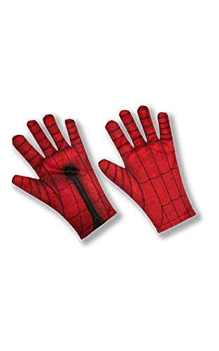 Rubie's- Spiderman Guantes, Multicolor (200299_NS)