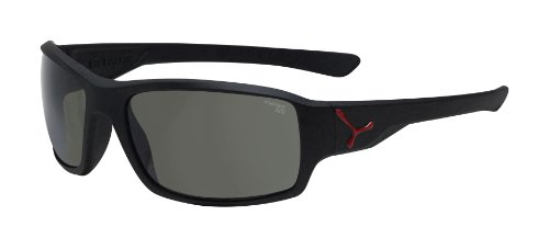 Cébé Sonnenbrille HAKA MATT BLACK RED Zone Grey Cat.3, no, M
