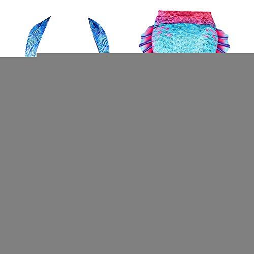 Qiterr Badeanzug Mädchen Ocean Maid Tail Bikini(110)