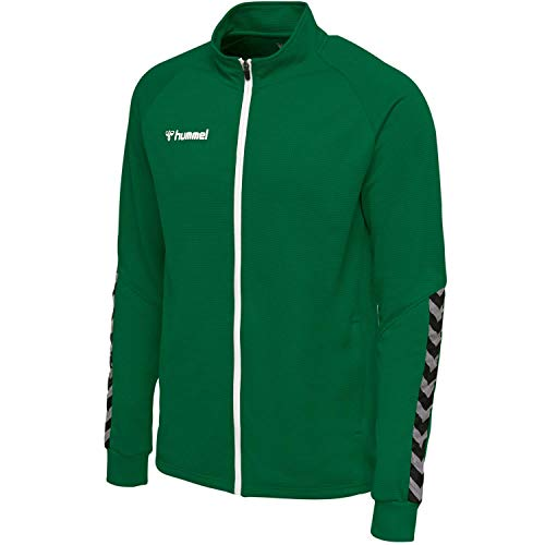Hummel Herren hmlAUTHENTIC Poly Zip Jacket Jacke, Evergreen, S