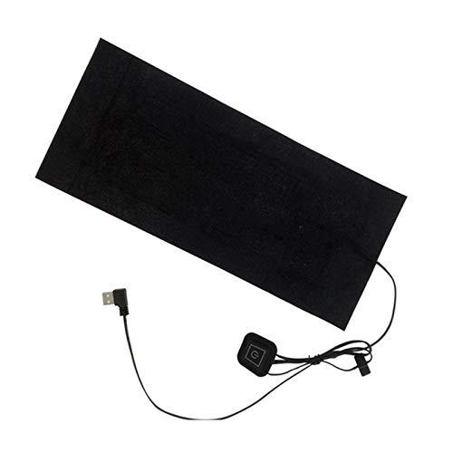 Wnuanjun Almohadilla de calefacción eléctrica de 1set para calambres USB Ropa de Calentamiento a Prueba de Agua para Invierno # 4o