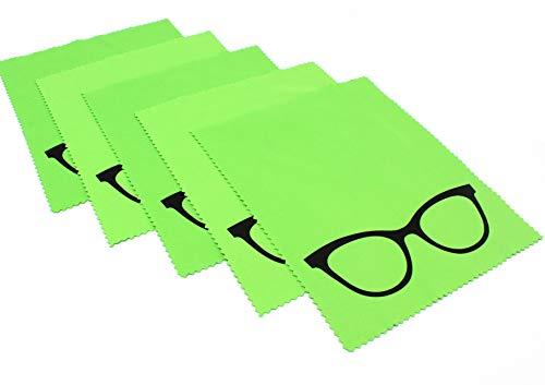 molinoRC 5X Premium Mikrofaser Brillenputztuch   NEU 2020 noch Besser Putz-Tuch Displayputztuch   18cm x 14,5cm   Kamera iPad iPhone Tablet PC   Brillenputztücher