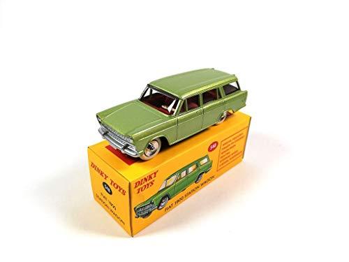 OPO 10 - DeAgostini Fiat 1800 Station Wagon Verde - macchinina Dinky Toys 548