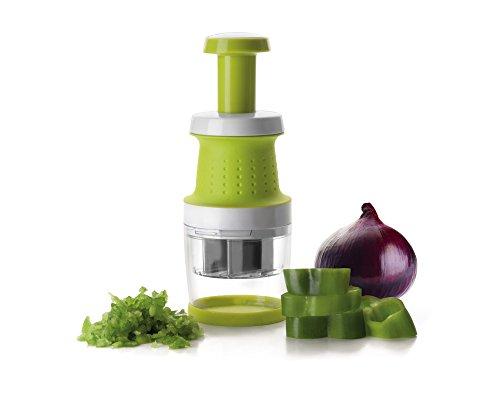 IBILI 799500 -Picadora Confort Mini de plástico, 6x 6x 17cm, Color Verde