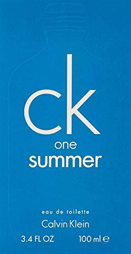 Calvin Klein CK One Summer eau de toilette Unisex 100 ml - Eau de toilette (Unisex, 100 ml, Envase no recargable, Cal, Lime Mojito, Guayaba)