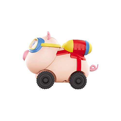 Bascar Juguete de inducción de cerdo, 2,4 G, mini inductivo, mando a distancia para coche, regalo para niños pequeños