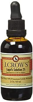 J.Crow s Lugol s Iodine Solution 2 oz Twin Pack  2 Bottles