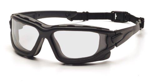 Pyramex Safety I-Force SB7010SDT - Gafas protectoras de trabajo (resistencia al fuego, cristal incoloro)