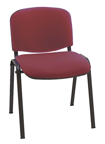Silla express silla, acero, burdeos, 55x53x79 cm.