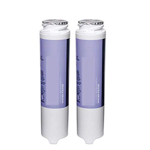 Household Kitchen Water Purifier General, Smart Water Refrigerator Water Filter Cartridge Replace, Suitable for Ge Gswf, 2PCS,White