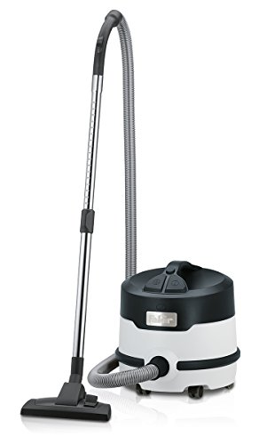 Fakir Premium S 20 E / Trocken-Kesselsauger, Trockensauger, Industrie-Staubsauger, 4-fach Filtersystem, sehr leise, grau schwarz - 800 Watt