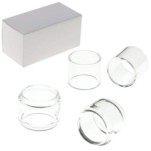 2x Eleaf Ersatzglas für Ello Duro Vate Melo D25 Tube Tank Pyrex Glass Bulb (Ello Duro 6.5ml (Bulb))
