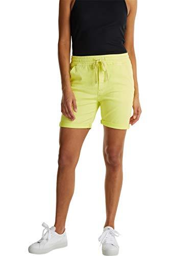edc by Esprit Damen 040CC1C315 Shorts, 760/LIME Yellow, 36