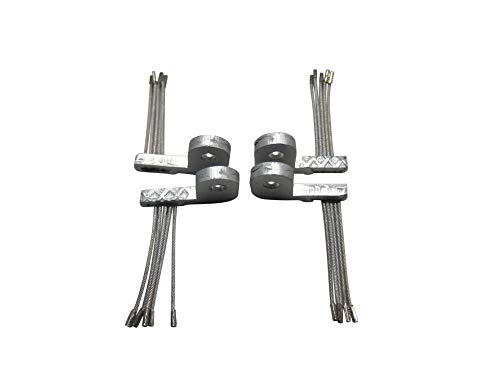 Ambrogio Sensoren-Satz (Abgrundsensoren) 4 Stück viele Zucchetti Modelle L50, Wiper, STIGA Autoclip UVM.