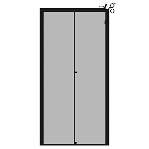 Adjustable Magnetic Screen Door by Yotache