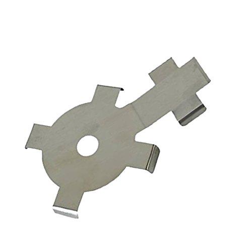 Sharplace Lame pour Taille-haie Coupe Machine Joint Outillage Pour Stihl Hs81t Hs86t en Fer Argenté