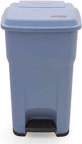 Cubos de Basura Grandes adentro/al Aire Libre Bote de Basura del Pedal PP Plástico Clínica médica Propiedad Reciclaje de desechos Contenedores de Compost Contenedores de Almacenamiento de Papel 30L