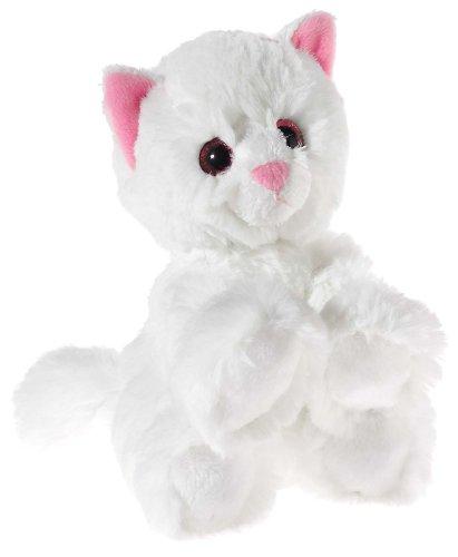 Heunec 246676 MISANIMO Glitter-Kitty Babykatze weiß, bunt