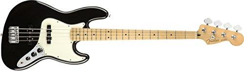 Fender エレキベース Player Jazz Bass®, Maple Fingerboard, Black 右利き