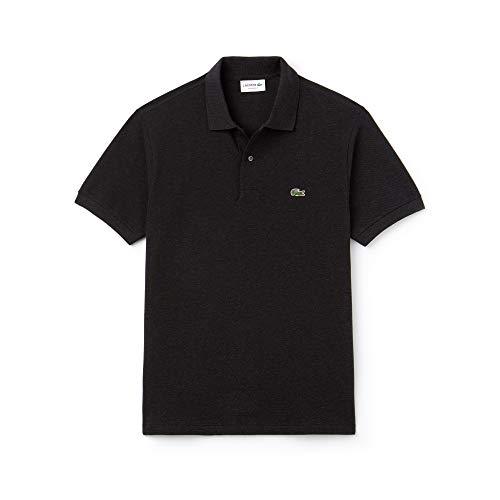 Lacoste Herren L1264 Hemd mit Kragen, Rippstrick, Foudre Chine, XS