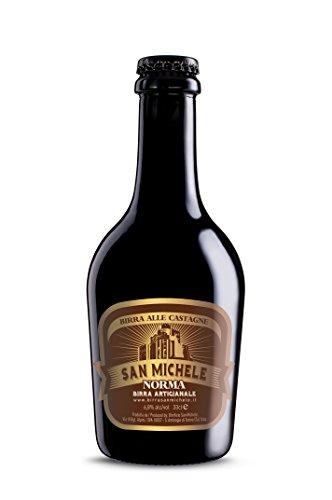 Birra Artigianale San Michele'Norma' - Birra alle castagne - 6,8% Scatola 12x 0,33L.