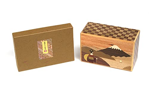 Caja de rompecabezas japonesa de 10 pasos Maiko