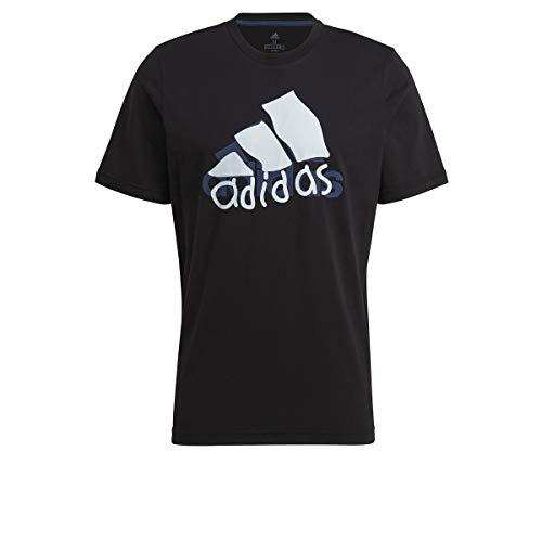 adidas Hacked Logo Tee T-Shirt für Herren, T-Shirt, GN6863, GN6863 Small