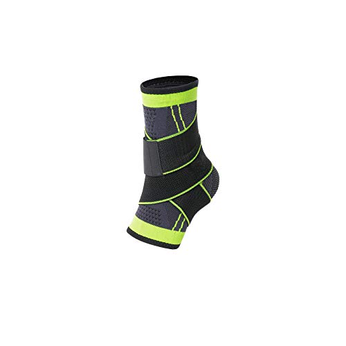 Ankle Braces, Adjustable Compression Ankle Support Men & Women, Strong Ankle Brace Sports Protection, Stabilize Ligaments-Eases Swelling and Sprained Ankle, One Size Fits all