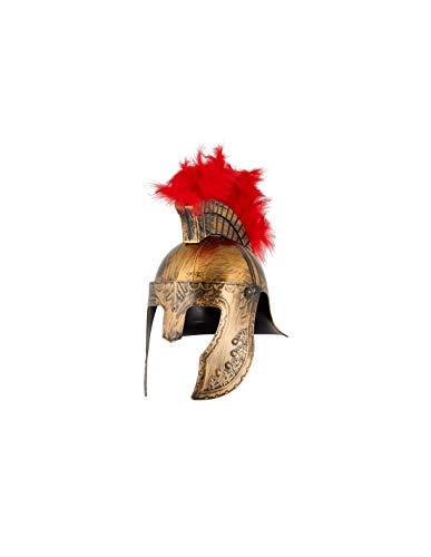 DISBACANAL Casco de Soldado Espartano - Oro, Unica