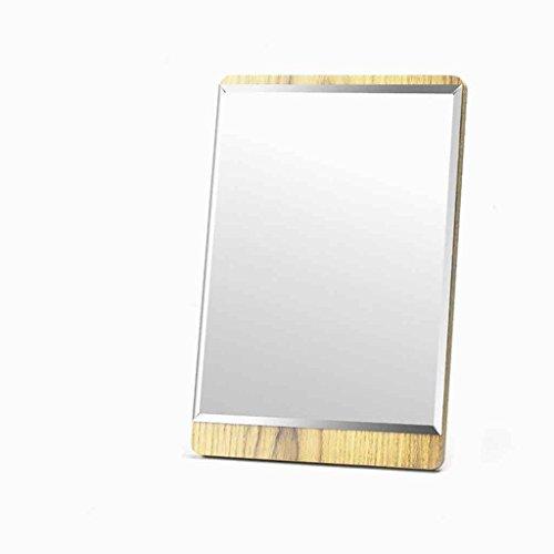 Miroirs Maquillage HD Bureau Unique Réglable Beauté Bureau Taille Simple Portable Vanity Borderless Design (Taille : 15 * 22.5cm)