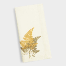 Ivory Fern Print Linen Napkins Set of 4 | World Market