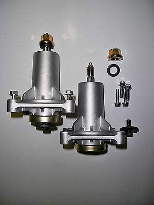 Craftsman Set of Two 187292, 192870, 532187292, 532192870 Spindle Assembly with Grease Zerk, Husqvarna Poulan