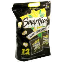 Smartfood Popcorn, Go Snack, White Cheddar Cheese Flavored,7.5 oz, (pack of 3)
