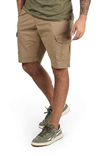 BLEND - Pantalones cortos cargo Crixus para hombre Lead Gray (70036) L