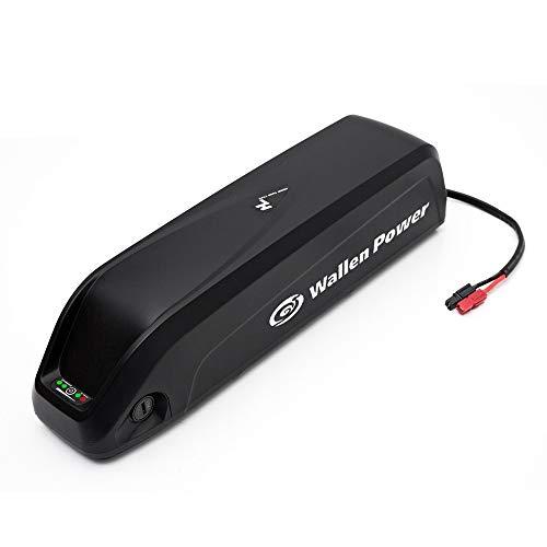 Wallen Power Batterie de vélo électrique 24V 36V 48V 52V Lithium-ION Batterie avec Chargeur et Carte de Protection BMS for 250W 500W 750W 800W 1000W Moteur (24V10AH (0-400W Moteur))