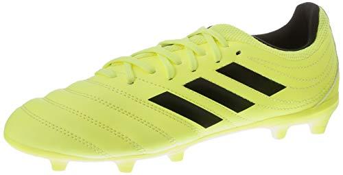 Adidas Boys Copa 19.3 - Zapato de fútbol, amarillo (amarillo solar / negro central / amarillo solar F35466), 38 2/3 UE
