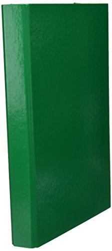 Pagna Heftbox Basic Colours A4 3 Innenklappen, mit Gummizugverschluss, grün