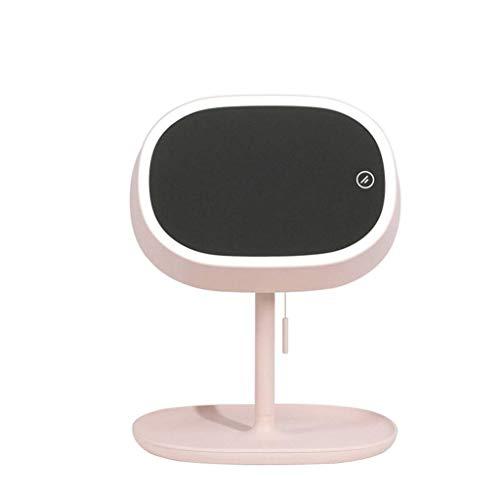 Led-make-upspiegel, tafellamp, USB, oplaadbaar, 180 graden draaibaar, voor meubels en bureau