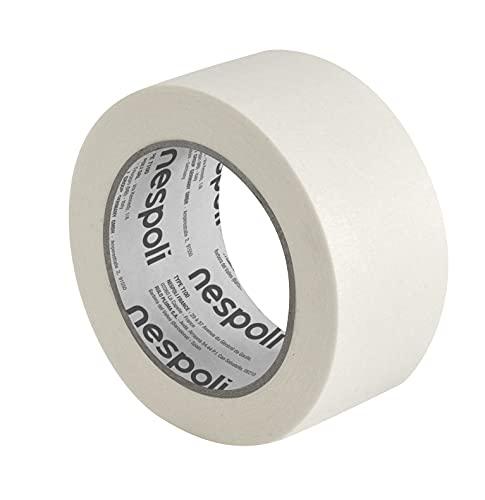 Nespoli N9930194678 Nastro in Carta per Mascheratura Medium 50mm x 50m, Bianco