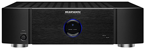 Marantz MM7025 Stereo Power Amplifier   2-Channel   140 Watts per Channel   Both Single-Ended RCA and Balanced XLR Inputs   Black