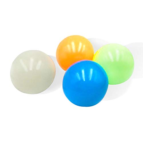 8 Pcs Squishy Sticky Balls for Kids, Sticky Balls That Stick to Wall Stress Relief Toys for Kids and Adults Tear-Resistant, Non-Toxic, Fun Toy for ADHD, OCD, Anxiety