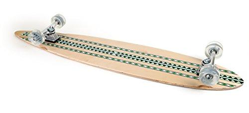 Skateboard, Longboard, Streetsurfer, Modello Muster 115 x 23 cm,