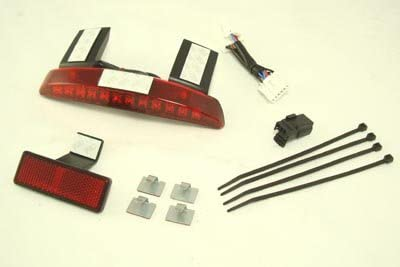 V-Twin 33-1599 Fender Inventory cleanup selling sale Edge Lamp Popular shop is the lowest price challenge Kit