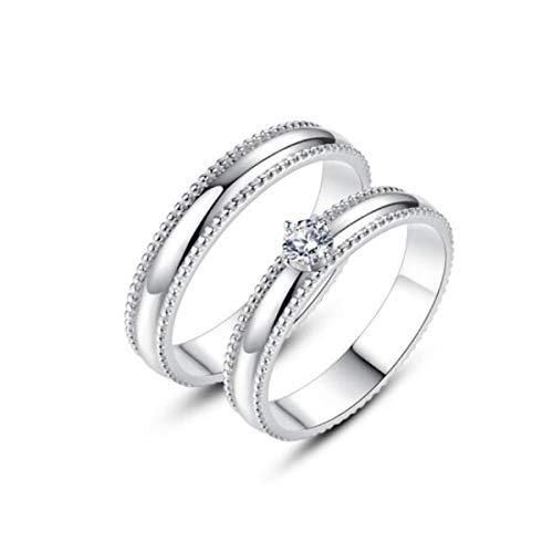 Anillo de hombre de moda, anillo de acero de titanio, anillo de dedo único índice, joyería de moda, anillo de acero de titanio dominante, regalo para novios, grandes, medianas y pequeñas parejas