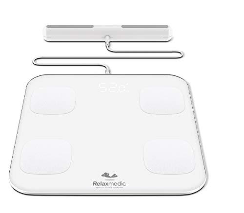 Balança Digital Bioimpedância App Relaxmedic